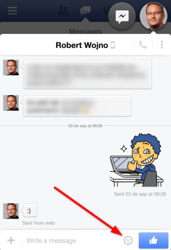 Facebook-chat-stickers-android