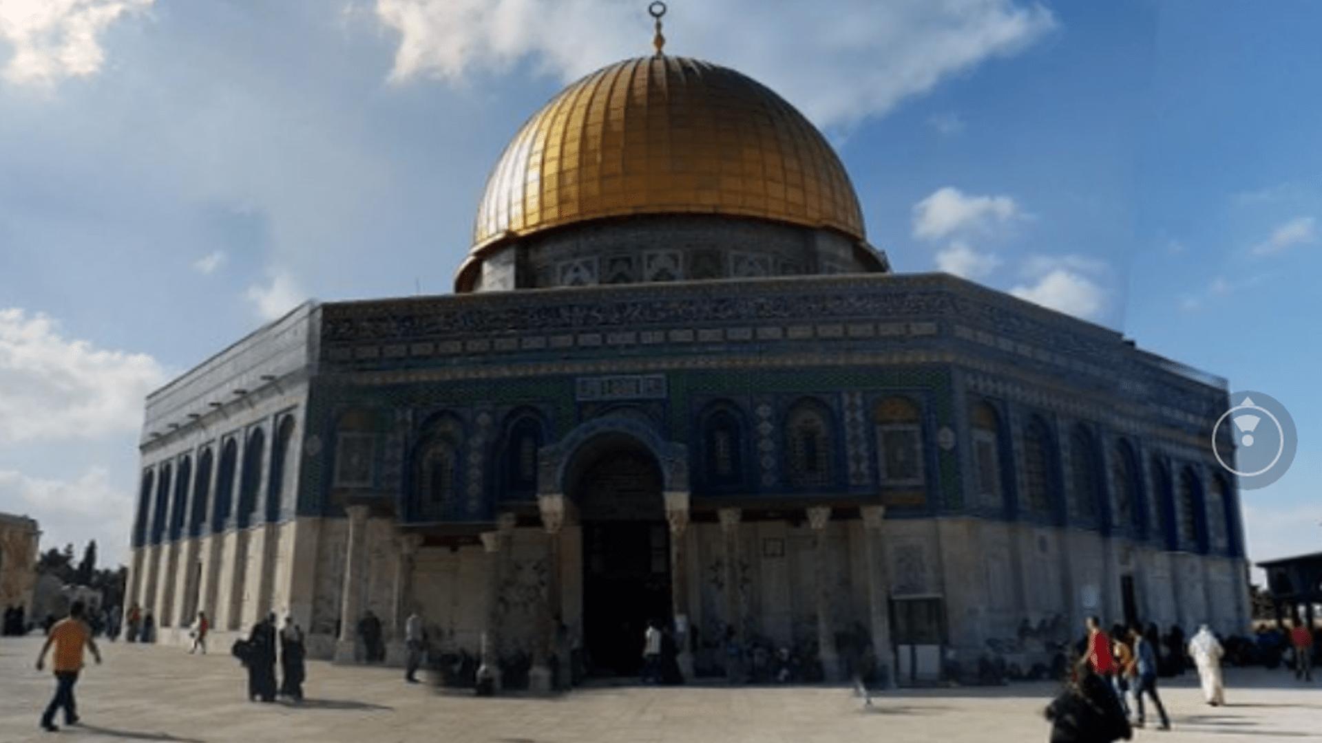 Photo of المسجد الاقصى بعدستنا صورة ثلاثية الابعاد
