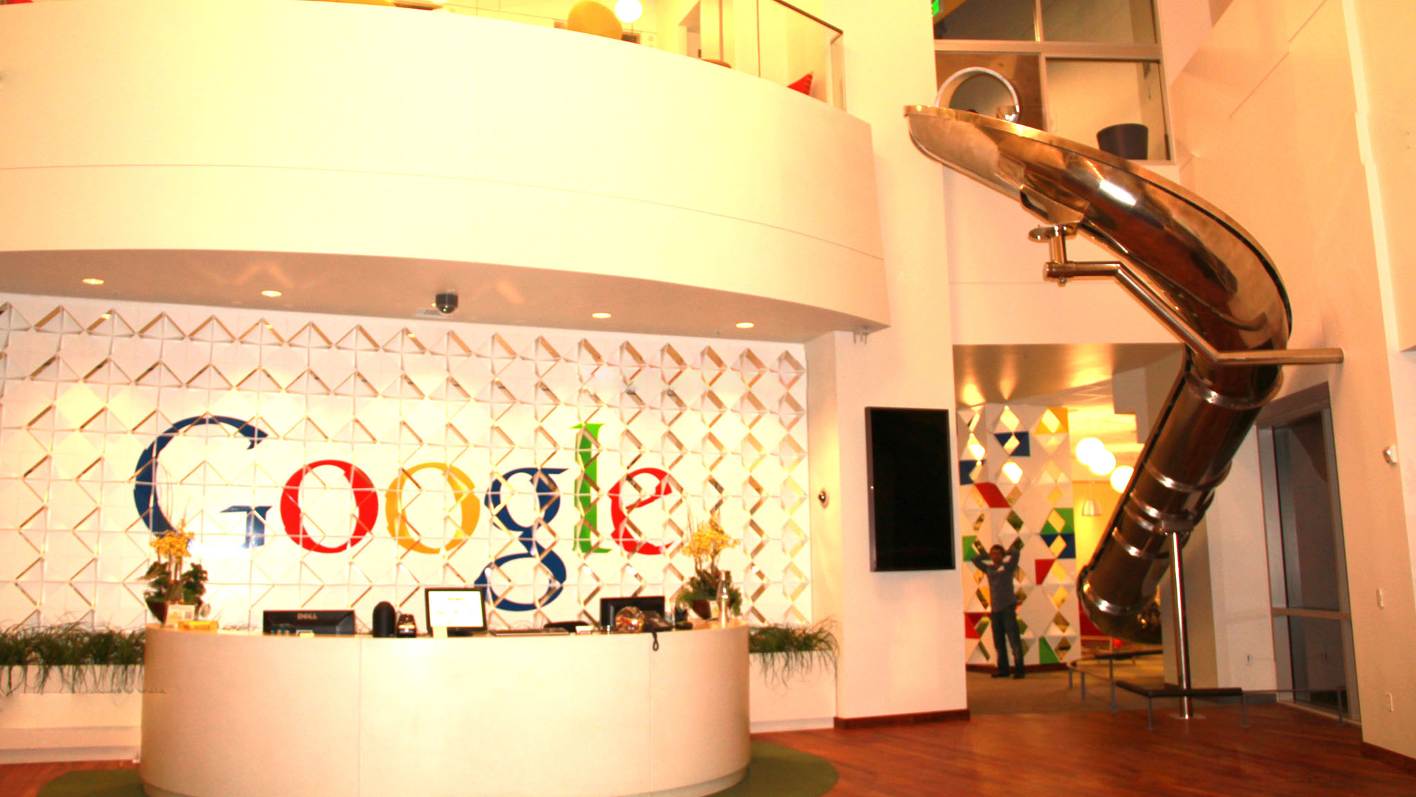 Photo of جولة في شركة جوجل