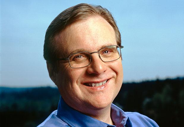 صورة إلى بول ألين صديق بيل غيتس و شريك سايق في شركة مايكروسوفت
