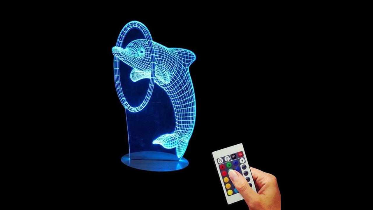Photo of مصابيح ليد ثلاثية الأبعاد بتصميمات مذهلة