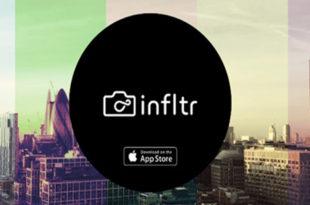 تعرف على تطبيق infltr المجاني من متجر أبل