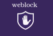أحصل على تطبيق (weblock) مجاناً قبل إنتهاء العرض