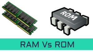 الفرق بين الرام والروم في عالم الحاسوب