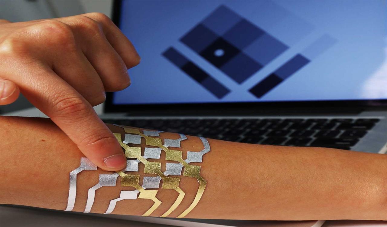 Photo of ابتكار وشم ذكي يتحكم في الأجهزة الإلكترونية عن طريق اللمس