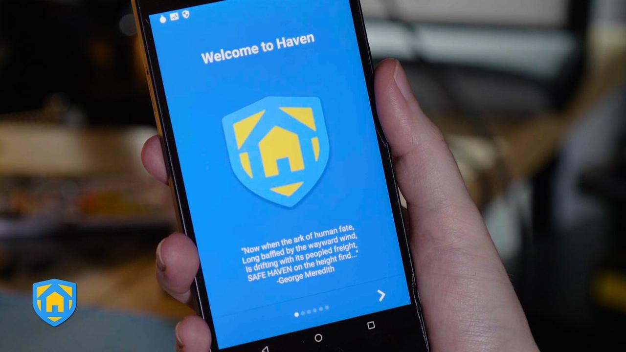 "Photo of تطبيق "" Haven"" يجعلك تستغني عن كاميرات المراقبة"
