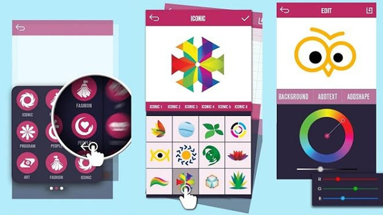 "Photo of تطبيق ""Logo Maker"" أصنع شعارك بنفسك من خلال الآيفون الخاص بك"