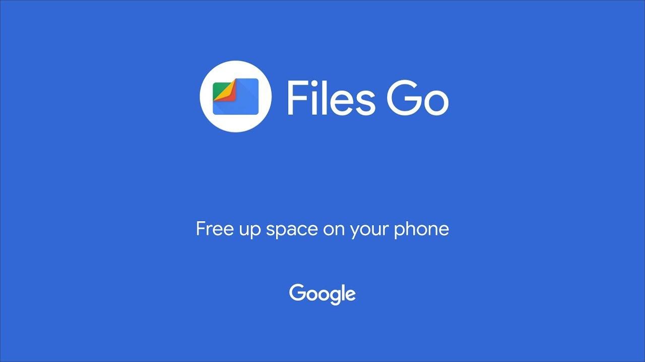 Files Go تطبيق من جوجل يخلصك من مشكلة المساحة