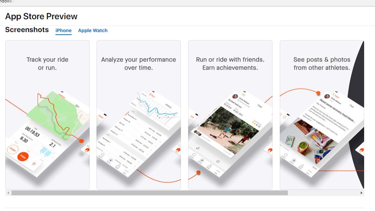 مميزات تطبيق strava تطبيق لمستخدمي الأيفون شكبة إجتماعية جديدة للرياضيين