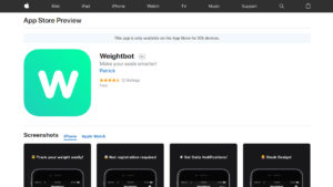أفضل تطبيقات الأيفون لخسارة الوزن
