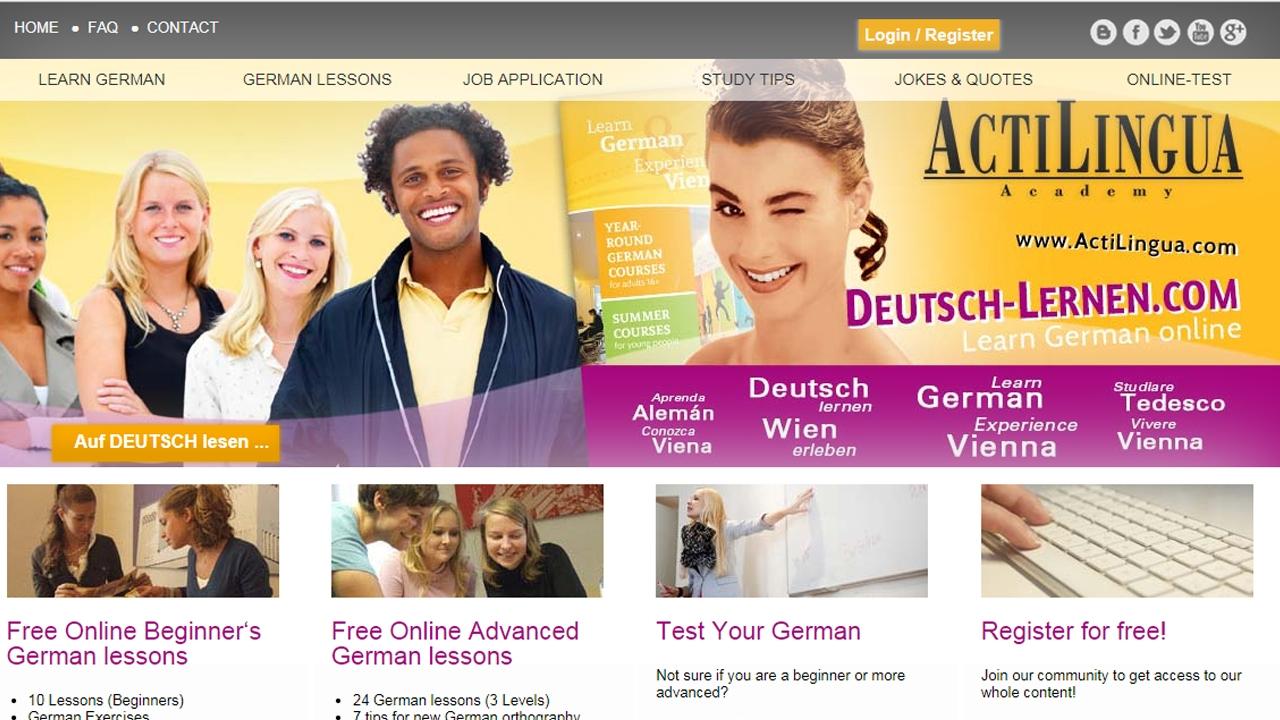 Photo of مواقع مجانية لتعليم اللغة الألمانية