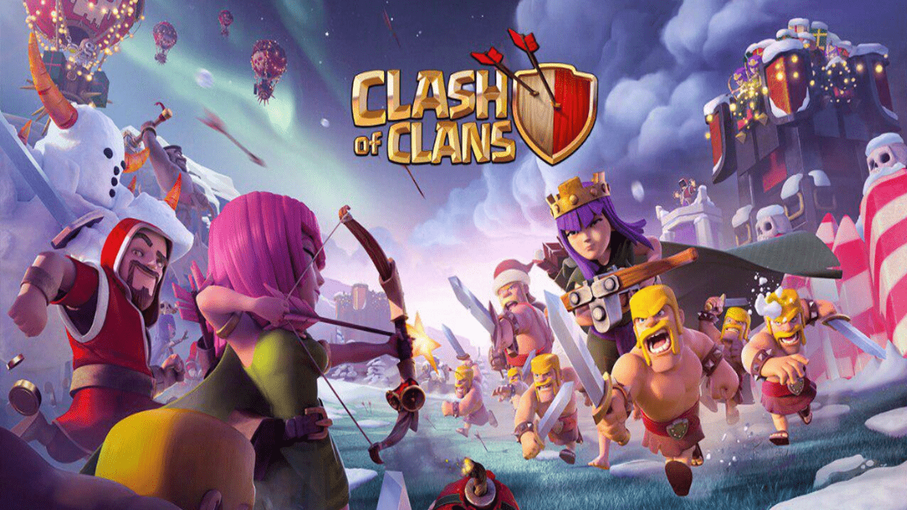 Photo of لعبة كلاش أوف كلانس Clash Of Clans