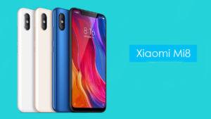 مميزات هاتف Xiaomi Mi 8 الجديد من شاومي