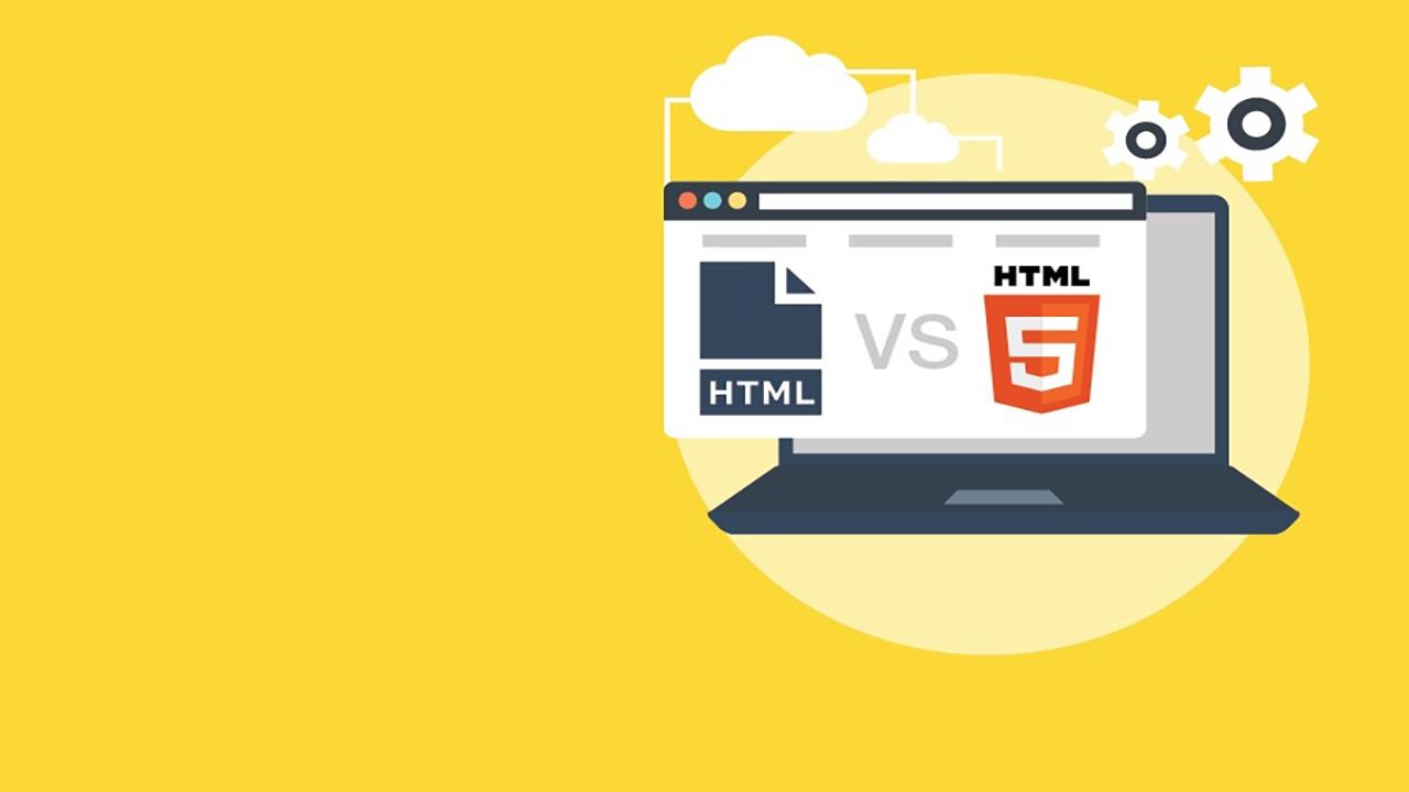 Photo of الفرق ما بين HTML5 و HTML