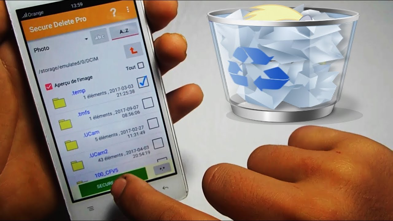 Photo of تطبيق لحذف الملفات بشكل نهائي من الهواتف