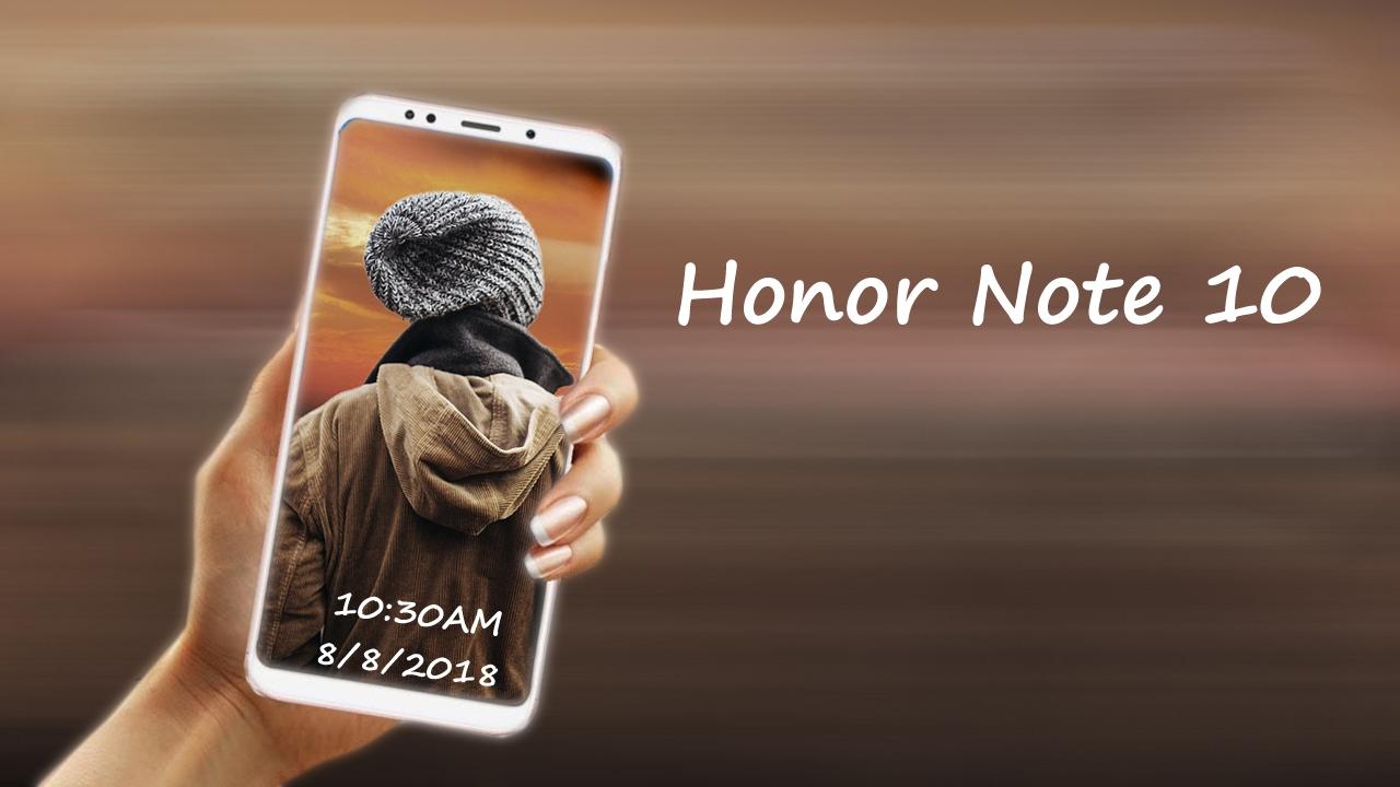 تعرف أكثر على مميزات هاتف Honor Note 10
