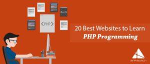 تعلم برمجة PHP باستخدام أحد هذه المواقع
