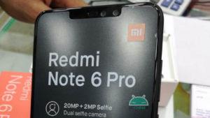هاتف Redmi Note 6 Pro