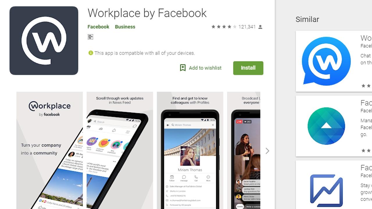 تعرف على تطبيق Workplace من فيس بوك لأجهزة الحاسوب