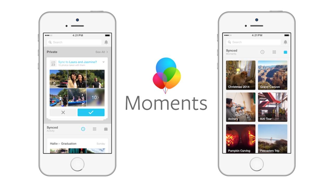 تعرف على موعد إنهاء تطبيق Moments على فيسبوك