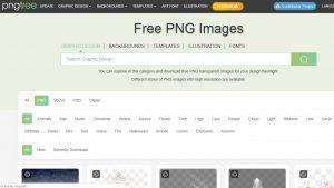 أفضل مواقع تحميل صور png