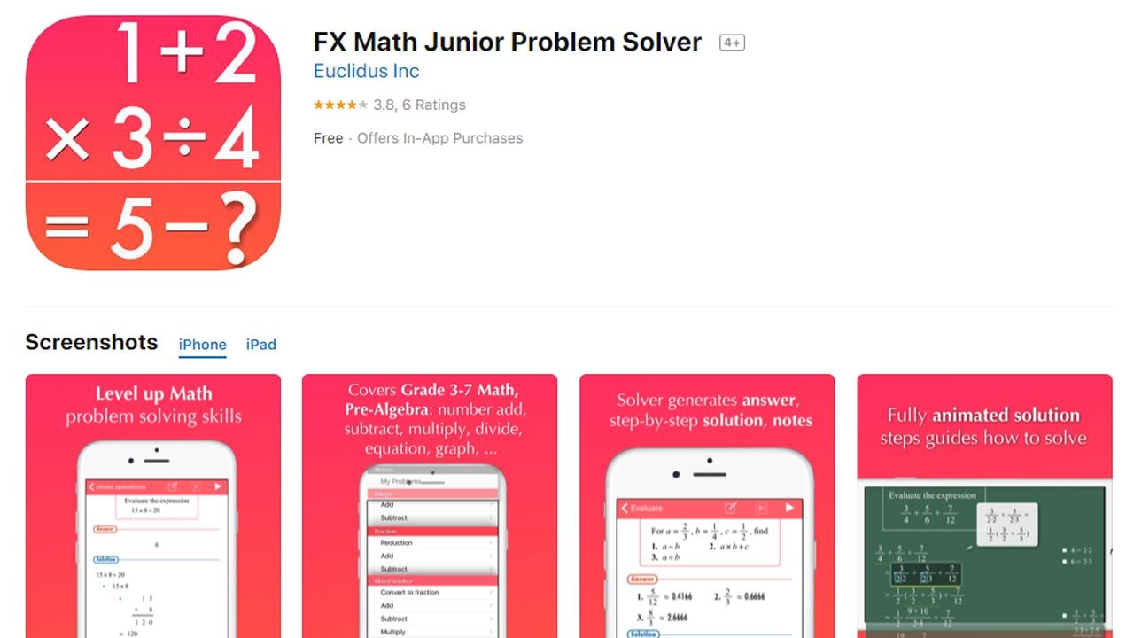 Photo of تطبيقات ايفون هامة لتعليم الرياضيات