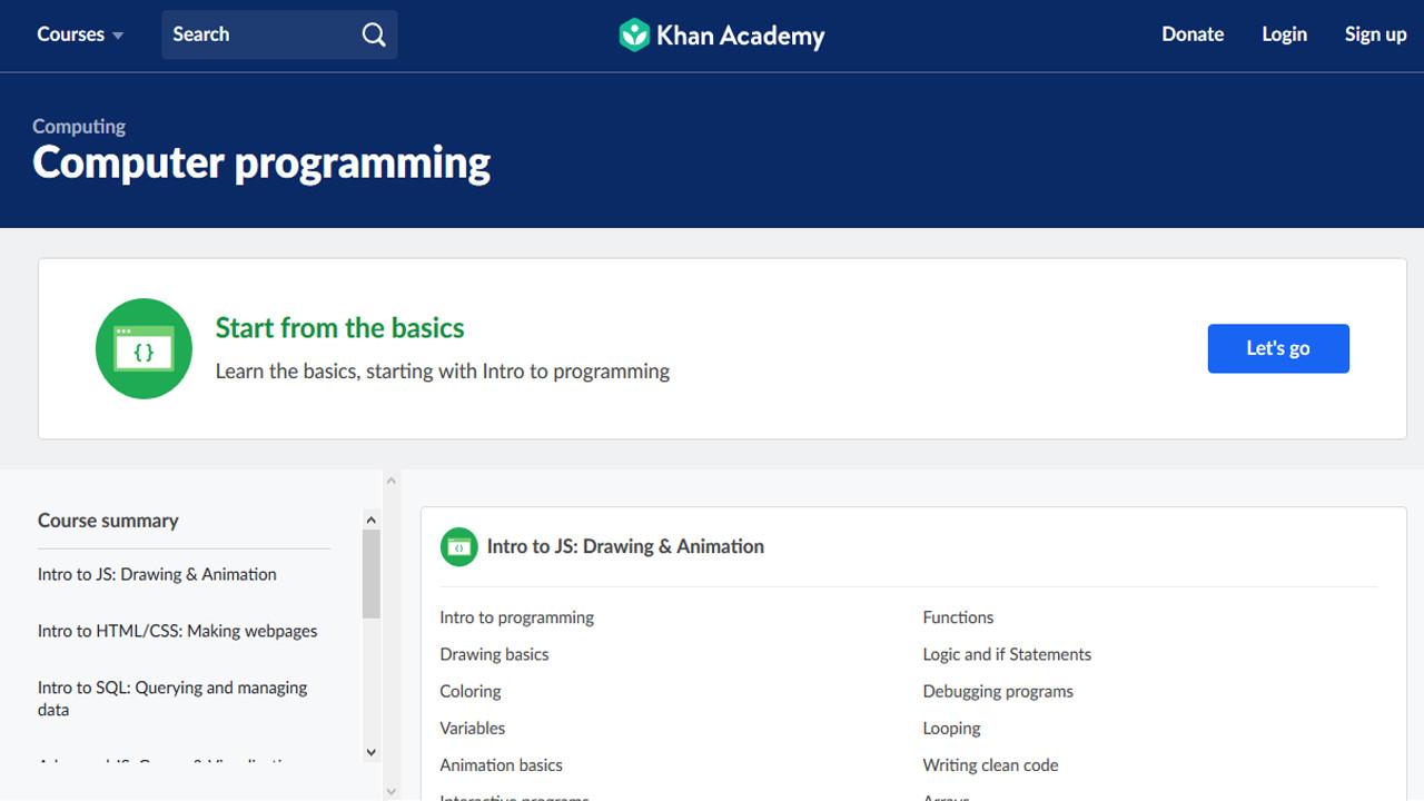 دورات مجانية في البرمجة وتصميم المواقع