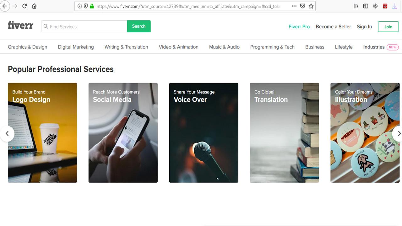 كيف تحقق أرباح هائلة من موقع Fiverr بخطوات بسيطة