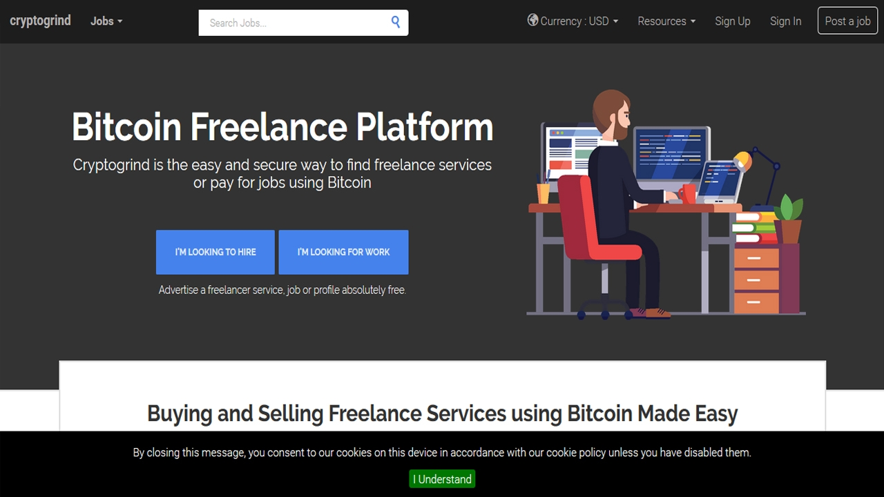 مواقع عمل حر تدفع بعملة بيتكوين Bitcoin