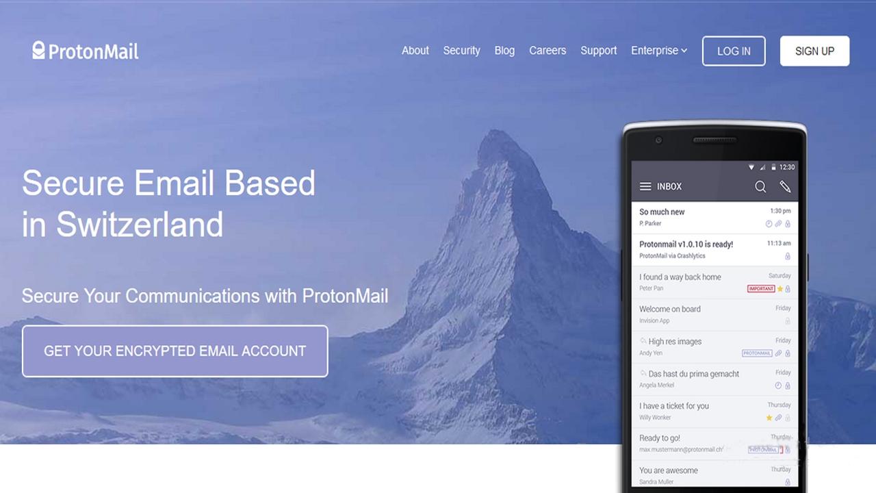 أفضل بدائل Gmail في عام 2020