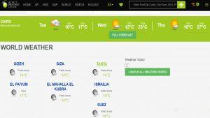أفضل مواقع توقعات الطقس في عام 2020