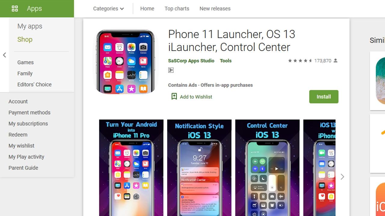 أفضل تطبيقات Launcher لانشر للاندرويد ليبدو مثل أيفون 2020