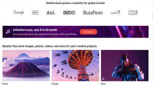Shutterstock كيف تكسب المال عن طريق بيع الصور