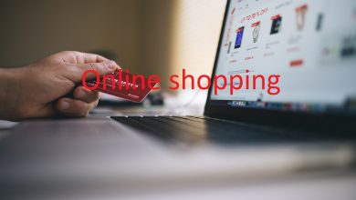 Online shopping-التسوق عبر الانترنت
