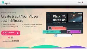 برامج مجانية لتحرير الفيديو بدون علامة مائية لنظام Windows