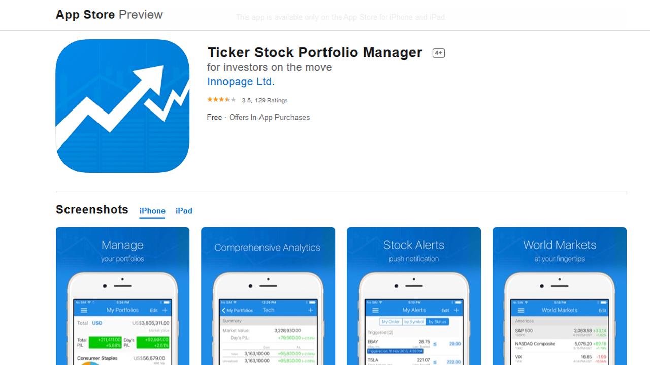 تطبيقات تداول الأسهم المجانية للآيفون