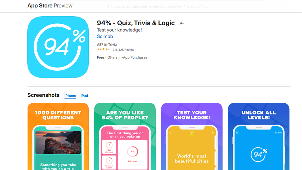 أفضل تطبيقات ألعاب أسئلة وإجابات لنظامي Android و iOS